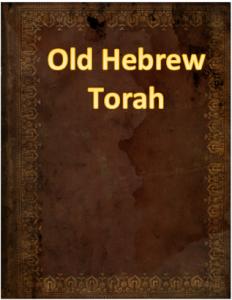 Old hebr. Torah
